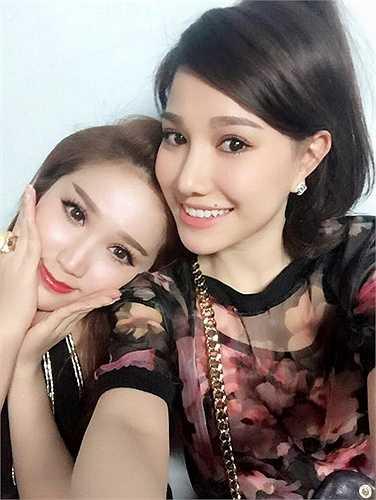 Đặc biệt, Minh Thảo còn rất thân thiết với Bảo Thy, em gái của Thế Bảo.