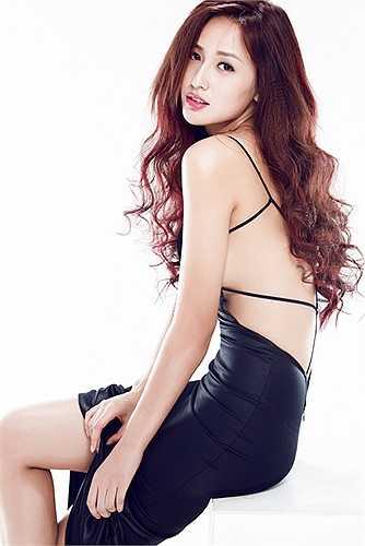 Hoa hậu Việt Nam 2006 ngày càng trở nên xinh đẹp, lôi cuốn.