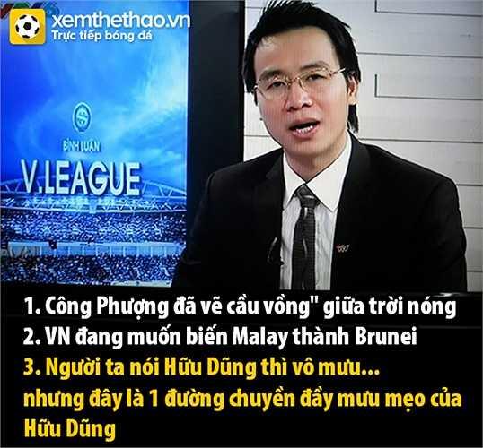 BLV Tạ Biên Cương hết lời khen Công Phượng.