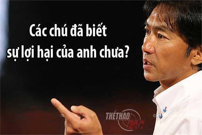Ông Miura khẳng định khả năng của mình.