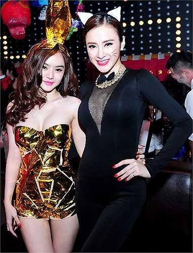 Thời trang 'kẻ tám lạng, người nửa cân' của chị em Angela Phương Trinh