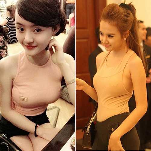 Sự thay đổi hình ảnh của Phương Trang và Angela Phương Trinh rất đồng nhất.