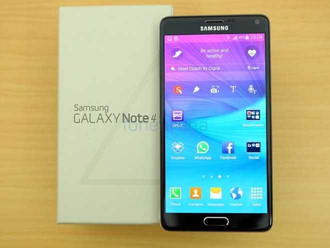 Một số đại lý cho bán Galaxy Note 4 chính hãng giá 12 - 13 triệu đồng. Ảnh: Fonearena.