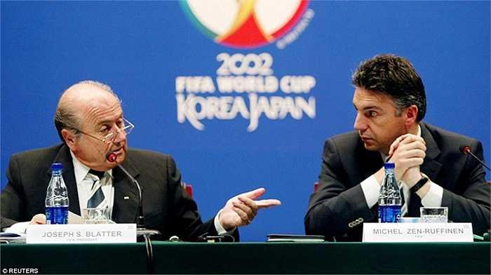 Năm 2002, Sepp Blatter tiếp tục ứng cử Chủ tịch FIFA