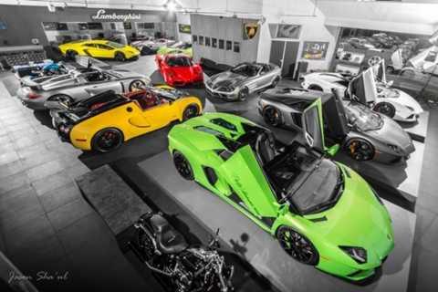 Top 10 đại lý xe hơi đẹp 'kỳ lạ' nhất trên thế giới