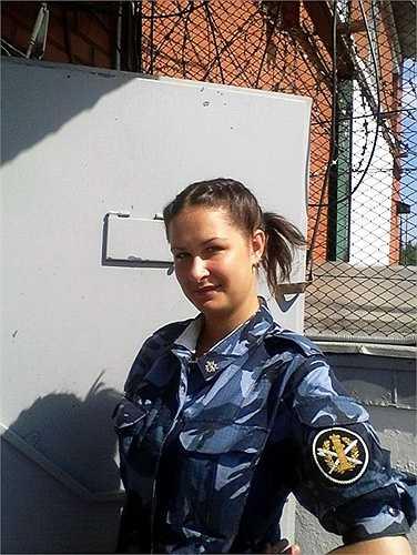 Một nữ quản giáo Nga