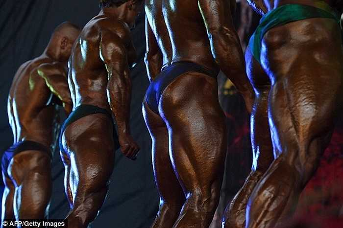 Cuộc thi khoe cơ bắp được tổ chức tại thủ đô Kabul, Afghanistan