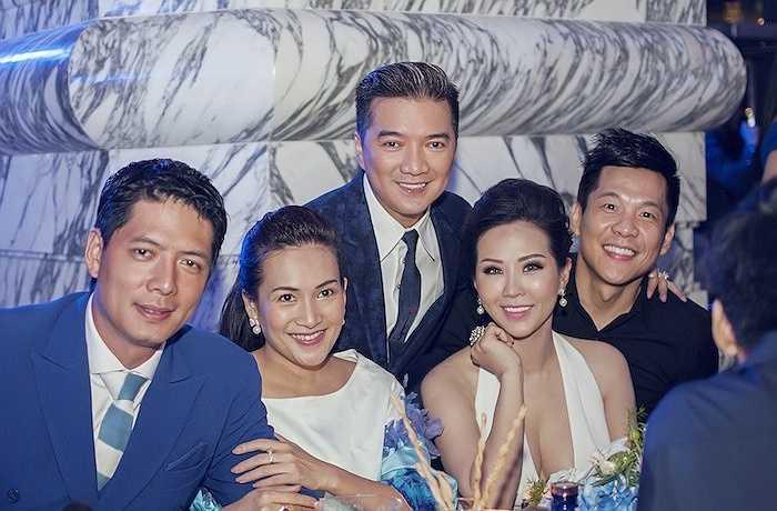Đàm Vĩnh Hưng, Hoa hậu Thu Hoài, vợ chồng Bình Minh - Anh Thơ.