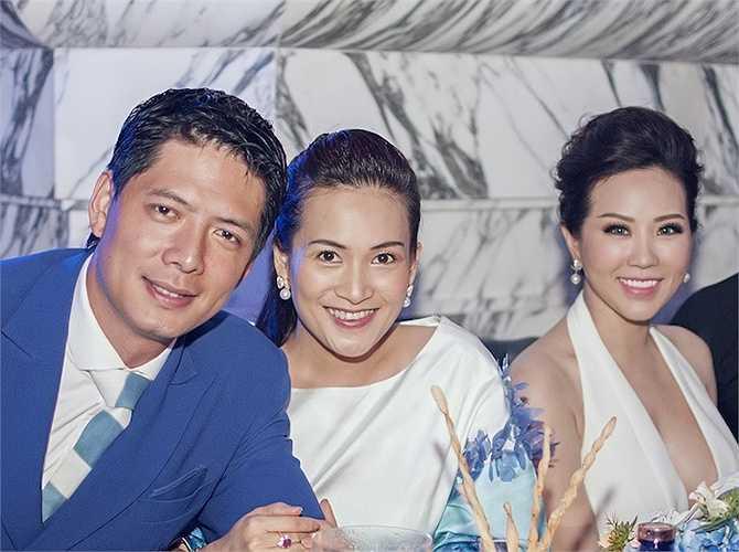 Hai vợ chồng MC Bình Minh luôn khiến mọi người ganh tị bởi sự hòa hợp và thường xuyên sánh đôi tại các hoạt động giải trí.