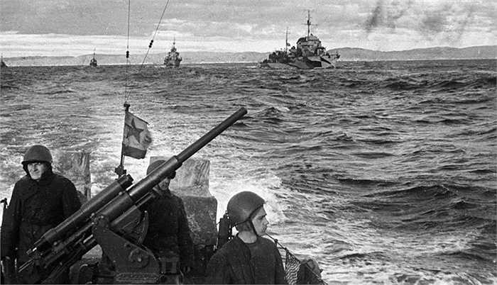 Các chiến hạm của Hạm đội phương Bắc trong Thế chiến II