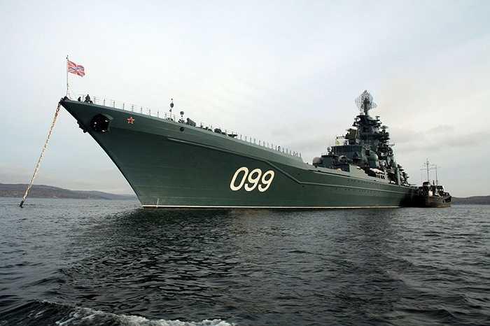 Tàu tuần dương tên lửa hạng nặng Pyotr Velikiy