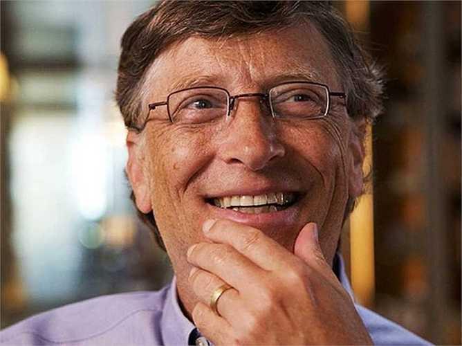 3. Bill Gates  Từng là sinh viên Đại học Harvard nhưng ông sớm từ bỏ để theo đuổi con đường sự nghiệp mà ông đam mê từ rất nhỏ: lập trình máy tính. Hiện nay, Bill Gates là một trong những người giàu nhất thế giới với 86 tỷ USD trong tay.