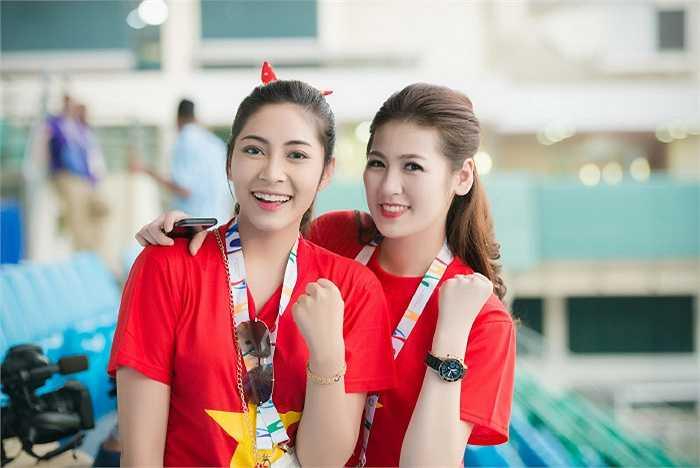 Đoàn đại sứ đồng hành cùng các vận động viên tại kỳ Sea Games 28.