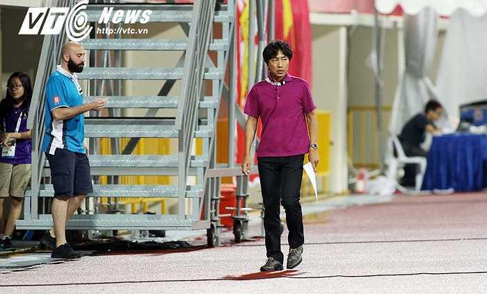 HLV Miura có quyền không hài lòng về hàng công. (Ảnh: VSI)