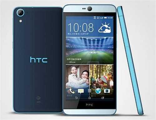 HTC Desire 826 (giảm 700.000 đồng)    Desire 826 có  thiết kế giống hệt như Desire Eye, tập trung vào tính năng selfie với camera trước cao cấp. Máy hiện có giá 8 triệu đồng.    Camera trước của 826 sẽ có độ phân giải 4 megapixel với công nghệ UltraPixel, thay vì 13 megapixel như trên Desire Eye. Ngoài ra, nó cũng không tích hợp flash kép. Điểm đáng chú ý nữa là máy được HTC cài đặt sẵn Android 5.0 Lollipop thay vì Android 4.4 KitKat như các model trước.