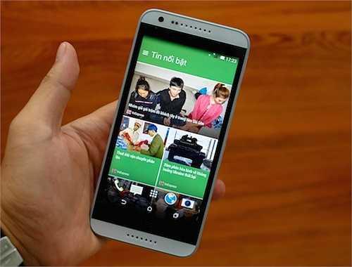 Desire 620G Dual Sim (giảm 800.000 đồng)    Smartphone tầm trung của HTC từ 5,1 triệu đồng xuống còn 4,3 triệu đồng.