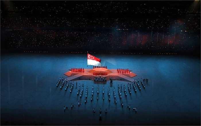 Nghi thức chào cờ nước chủ nhà SEA Games.