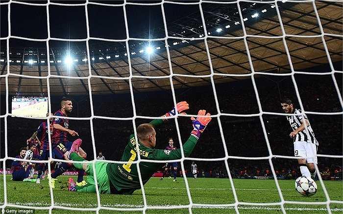 Morata bị lãng quên ở Real, tỏa sáng ở Juve nhưng mình anh là chưa đủ để đưa Bà đầm già thành Turin tới chiến quả cuối cùng.