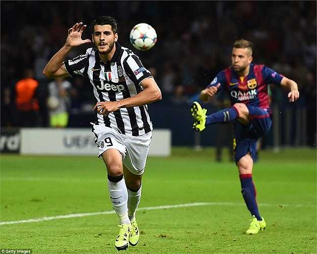 Morata là phát hiện lớn nhất của Juve mùa này