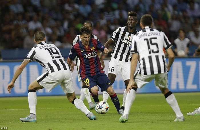 Messi gần như chắc chắn giành Quả bóng vàng thế giới 2015
