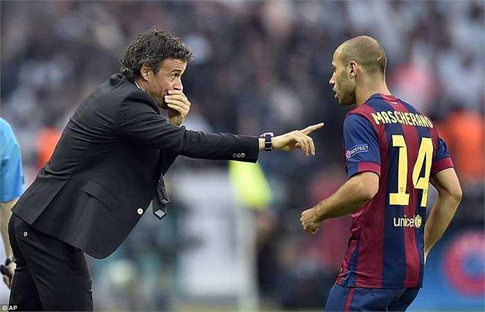 Luis Enrique ăn 3 ngay mùa đầu làm HLV trưởng. Một kết quả vô cùng ấn tượng nếu biết ông và Messi đã có thời gian dài mâu thuẫn ở mùa giải năm  nay