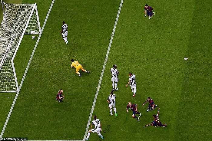 Buffon không thể nâng cao Champions League dù chỉ 1 lần trong sự nghiệp