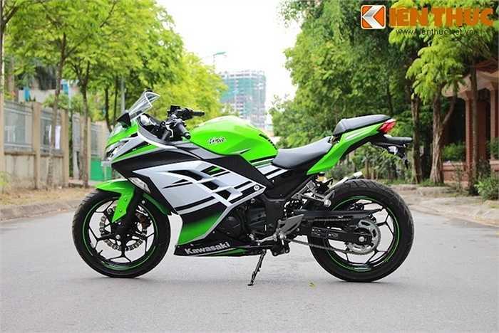 Kawasaki Ninja 300 hiện đã được nhập về Việt Nam chính hãng thông qua nhà phân phối Motorrock.