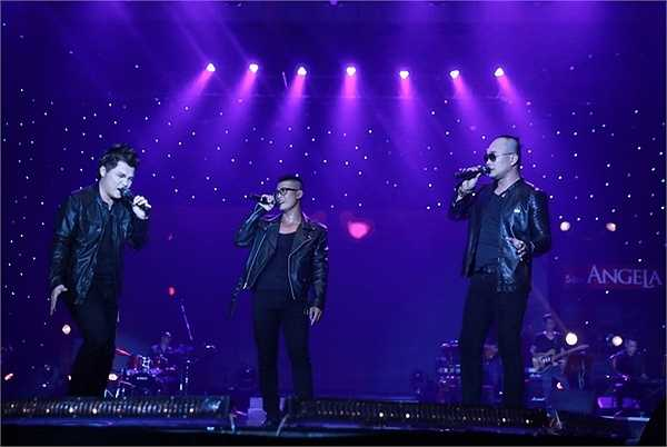 Nhóm MTV đã có liveshow kỷ niệm 15 năm ca hát thành công rực rỡ trong sự cổ vũ cuồng nhiệt của gần 3000 khán giả