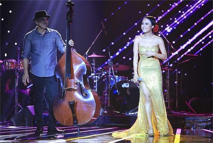 Thái Trinh trưởng thành hơn với Jazz qua ca khúc 'Fly me to the moon' và bùng nổ với siêu phẩm 'Waka waka - This time for Africa'.