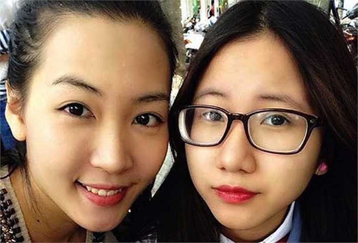 Ngay khi để mặt mộc, Trang Anh cũng rất xinh đẹp và dễ thương