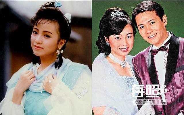 Đặng Tụy Văn: Ảnh hậu TVB từng có cuộc tình chóng vánh với tài tử Giang Hoa (phải). Chỉ tiếc là khi đó, anh đã có gia đình. Từ một người phụ nữ đang được mến mộ, Đặng Tụy Văn trở thành cái gai trong mắt dư luận.