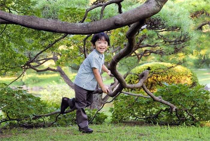 9. Hoàng tử Hisahito (Nhật Bản)- Trong tiếng Nhật, Hisahito có nghĩa là 'thanh bình và đạo đức' - những phẩm chất chắc chắn sẽ giúp cậu bé trưởng thành thật vững chắc trong tương lai.