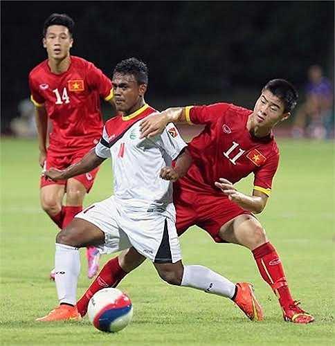 Trận đấu với U23 Đông Timor được dự báo là khó khăn với U23 Việt Nam, bởi đối thủ chỉ để thua sát nút U23 Thái Lan và U23 Malaysia 1 bàn