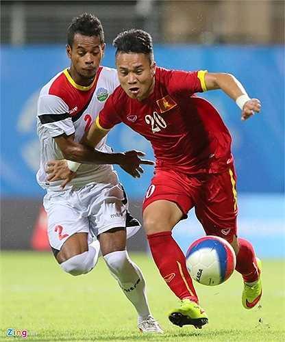 U23 Đông Timor không còn có thể chơi phòng ngự số đông, họ buộc phải dồn lên và U23 Việt Nam có khá nhiều khoảng trống để khai thác