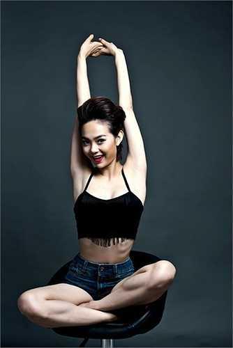 'Bé Heo' ngày nào đã trở thành một mỹ nhân showbiz Việt.