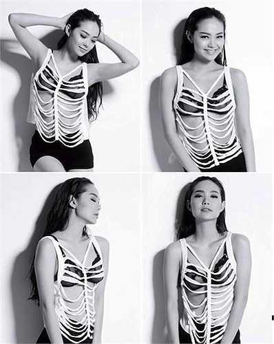 Minh Hằng cũng là một mỹ nhân xinh đẹp của showbiz Việt.