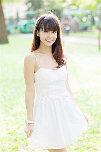 Nhờ sức hút của mình, Khả Ngân đã được đạo diễn Việt Trinh chấm vai diễn Diễm trong 'Trở về 3'.