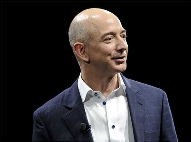 Hiện, tỷ phú công nghệ Jeff Bezos sở hữu khối tài sản lên tới 38,6 tỷ USD.