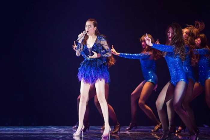 Sexy đã trở thành thương hiệu của Hoàng Thùy Linh từ khi cô trở lại con đường âm nhạc.