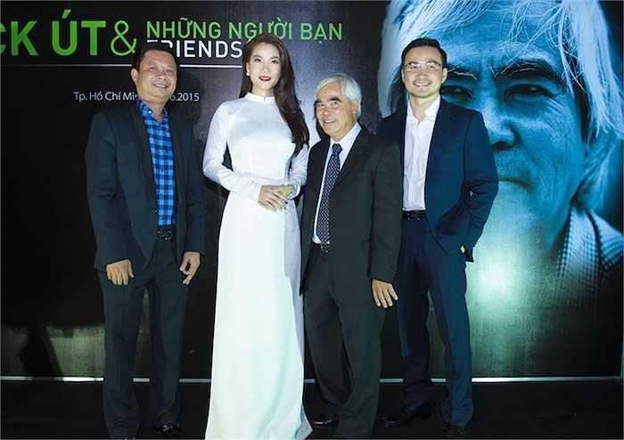 Tối 9/6, Trương Ngọc Ánh xuất hiện nổi bật trong tà áo dài thướt tha khi tham gia sự kiện từ thiện 'Hiểu về trái tim'.