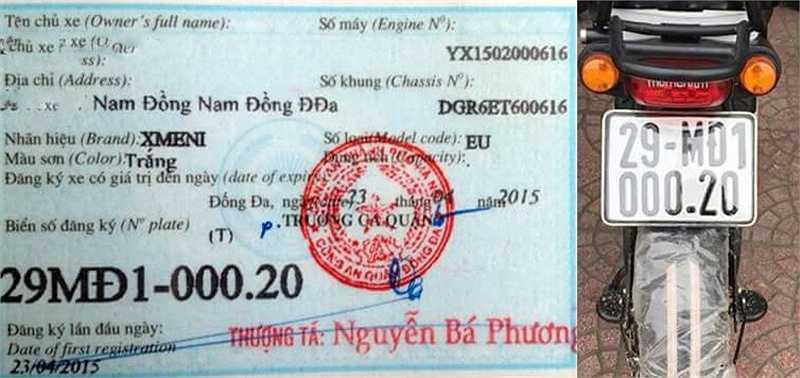 Rất ít người đi làm thủ tục đăng ký xe máy điện sau 1 năm thông tư 15/2014 có hiệu lực. (Nguồn: Vietnamnet)