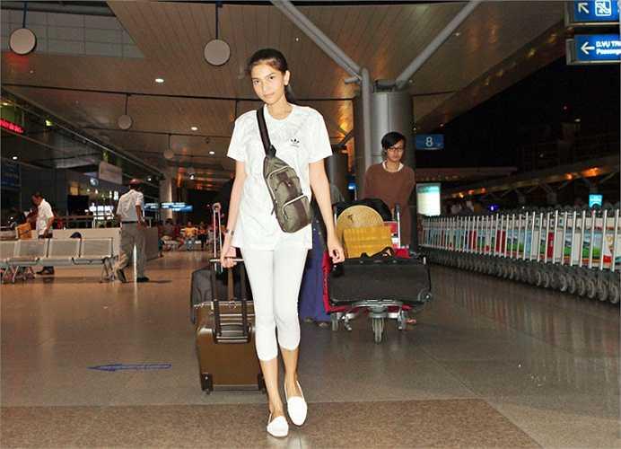 Trương Thị May không được đánh giá cao về phong cách thời trang.