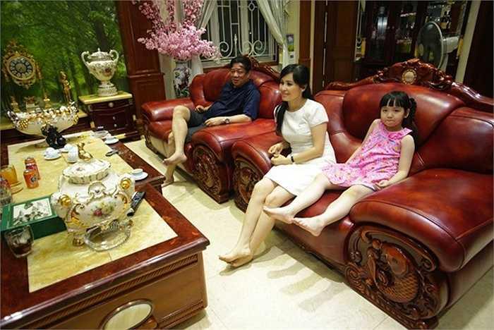 Gia đình Trang Nhung thường sinh hoạt chung ở đây.