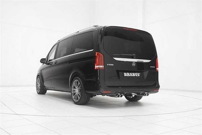 Nhờ đó, chiếc xe van này có thể tăng tốc từ 0-100 km/h trong 8,8 giây và đạt tốc độ tối đa 210 km/h.