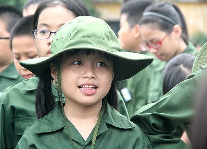 Rạng rỡ khi chuẩn bị bước vào môi trường quân ngũ