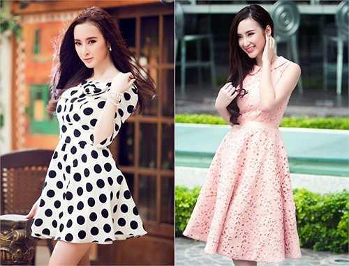 Và quả thật sau đó Angela Phương Trinh không ít lần xuất hiện với trang phục 'kín bưng' khiến công chúng cũng phải giật mình ngạc nhiên. Trong các bộ ảnh thời trang, không còn những bikini nóng bỏng mắt mà nữ tính hơn với các kiểu váy nhẹ nhàng, nữ tính.