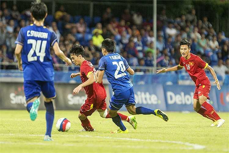 Tiếc rằng, thời gian không đủ để Công Phượng và U23 Việt Nam lật ngược tình thế. Chúng ta chỉ có được bàn thắng rút ngắn tỷ số xuống còn 1-3. (Hà Thành)