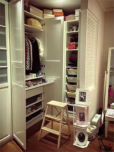 Người đẹp chỉ thỉnh thoảng tiết lộ những góc nhỏ xinh trong căn phòng của mình.