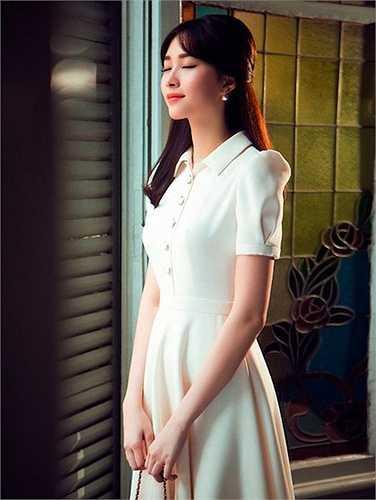Cô là hình mẫu của nhiều phụ nữ trẻ yêu thích thời trang.