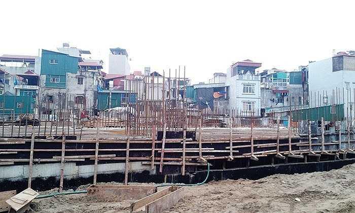 Dự án 283 Khương Trung được biết đến là dự án dành cho cán bộ chiến sỹ công an, nhưng phần nhà thương mại khiến không chỉ người có nhu cầu nhà ở thèm thuồng, mà nhiều nhà đầu tư cũng nhập cuộc